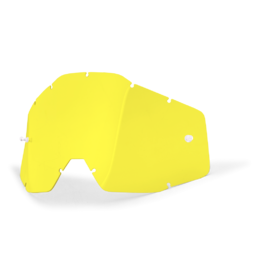 Линза 100% Racecraft/Accuri/Strata Anti-Fog Yellow