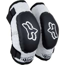Налокотники детские Fox Titan Elbow Kids Guard Black/Silver