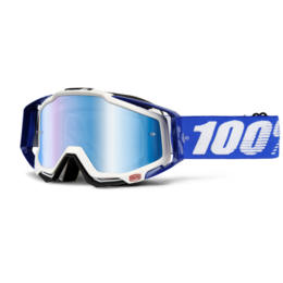 Очки 100% Racecraft Cobalt Blue / Mirror Blue Lens