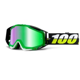 Очки 100% Racecraft Simbad / Mirror Green Lens