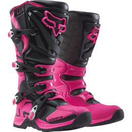 Мотоботы женские Fox Comp 5 Womens Boot Black/Pink