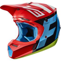 Мотошлем Fox V3 Creo Helmet Red