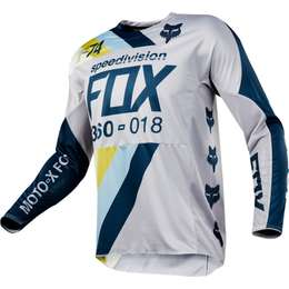 Мотоджерси Fox 360 Draftr Jersey Light Grey