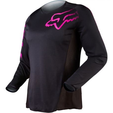 Мотоджерси женская Fox Blackout Womens Jersey Black/Pink