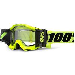 Очки 100% Accuri Forecast Fluo Yellow / Clear Lens