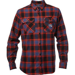 Рубашка Fox Traildust Flannel Midnight