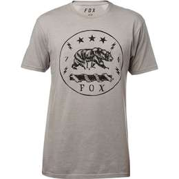 Футболка Fox Revealer SS Premium Tee Heather Dark Grey