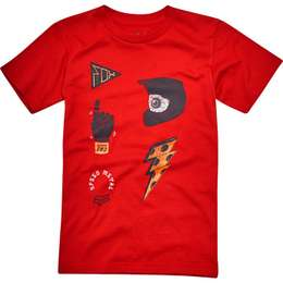 Футболка детская Fox Kids Out Ahead SS Tee Dark Red