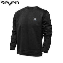 Толстовка Seven Benchmark Crew Neck Black