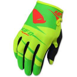 "Мотоперчатки  UFO ""HYDRA""  GLOVE Green/Yellow"