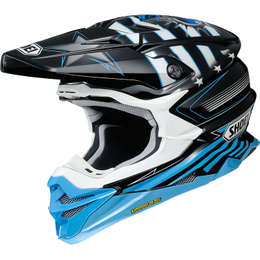 Мотошлем SHOEI VFX-WR GRANT 3 BLUE/BLACK TC-2 M