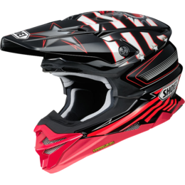 Мотошлем SHOEI VFX-WR GRANT 3 RED/BLACK TC-1