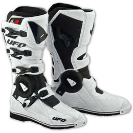 Мотоботы UFO RECON Boots White 43