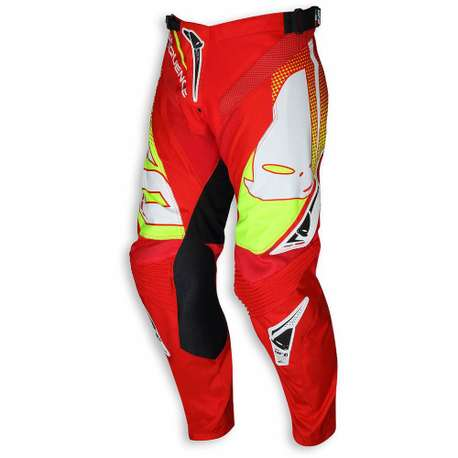"Мотоштаны UFO ""SEQUENCE"" PANTS Red"