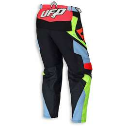 "Мотоштаны UFO ""HYDRA"" PANTS Red Fluo"