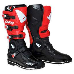 Мотоботы UFO RECON Boots Black/Red