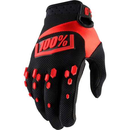 Мотоперчатки 100% Airmatic Glove Black/Red