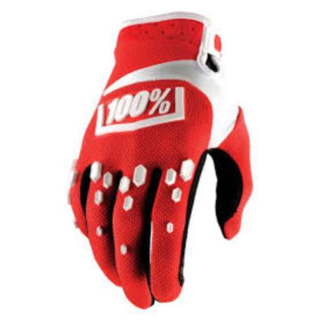 Мотоперчатки 100% Airmatic Glove Red/White