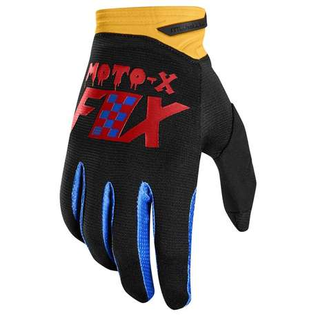 Мотоперчатки Fox Dirtpaw Czar Glove Black/Yellow