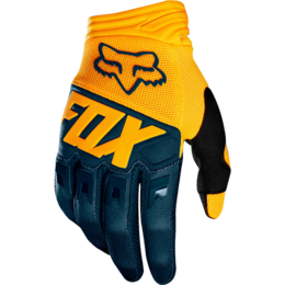 Мотоперчатки Fox Dirtpaw Glove Navy/Yellow