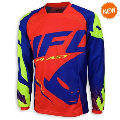 Мотоджерси UFO SEQUENCE JERSEY Red Fluo