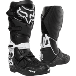 Мотоботы Fox Instinct Boot Black/White