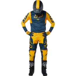 Мотоджерси Fox 180 Przm Jersey Navy/Yellow