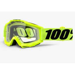 Очки 100% Accuri Fluo Yellow OTG / Clear Lens