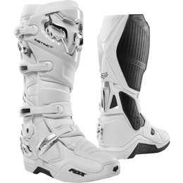 Мотоботы Fox Instinct Boot White/Silver