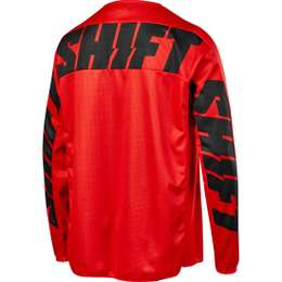 Мотоджерси Shift White York Jersey Red