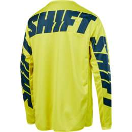 Мотоджерси Shift White York Jersey Yellow/Navy