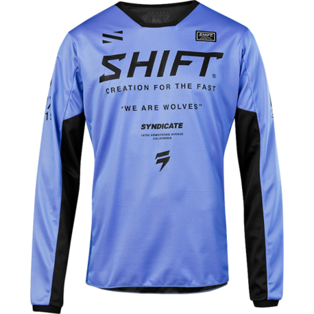 Мотоджерси Shift White Muse Jersey Purple