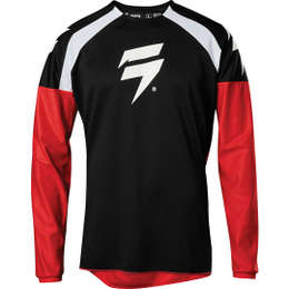 Мотоджерси Shift Whit3 Label Race 1 Jersey Black/Red