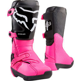Мотоботы женские Fox Comp Womens Boot Black/Pink
