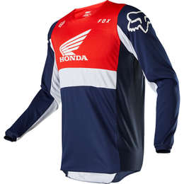 Мотоджерси Fox 180 Honda Jersey Navy/Red