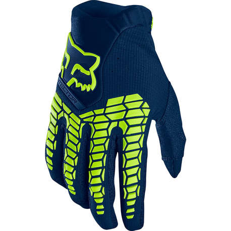 Мотоперчатки Fox Pawtector Glove Navy