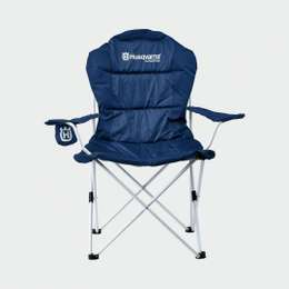 Кресло раскладное Husqvarna Corporate Paddock Chair Blue