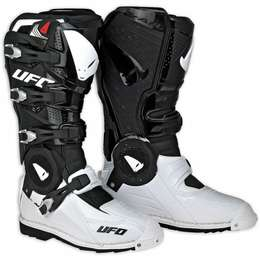 Мотоботы UFO RECON Boots White/Black 42