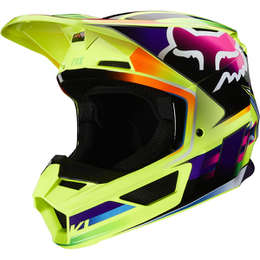 Мотошлем Fox V1 Gama Helmet Yellow