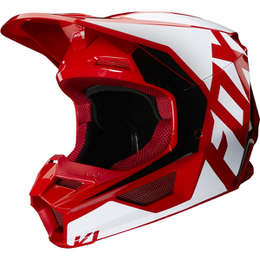 Мотошлем Fox V1 Prix Helmet Flame Red