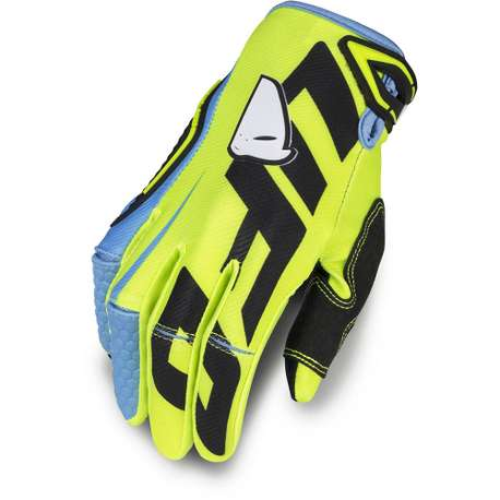 "Мотоперчатки UFO ""BLAZE"" GLOVE Yellow Fluo"