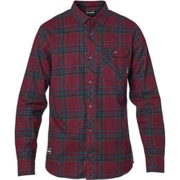 Рубашка Fox Gamut Stretch Flannel Cranberry
