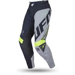 Мотоштаны UFO SLIM FREQUENCY PANTS Blue/Grey/Neon Yellow