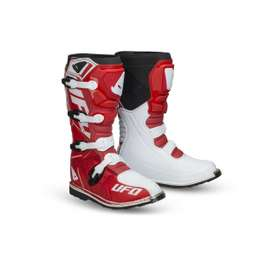 Мотоботы UFO OBSIDIAN 2021 BOOTS Red
